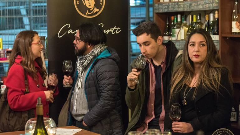 "Cata en ""La boutique del vino"", Quilpué"